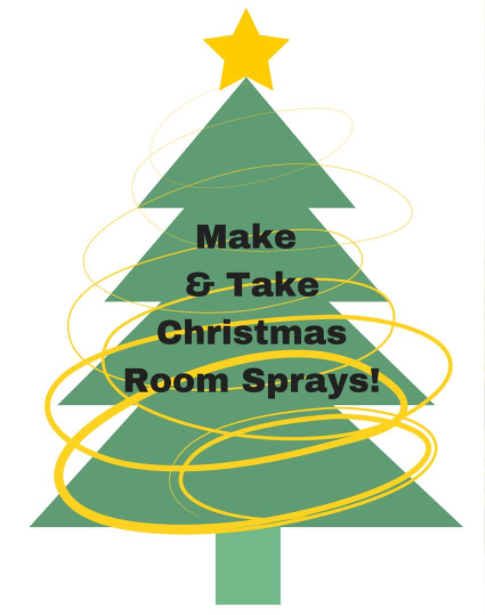 Make and Take Christmas Room Sprays!